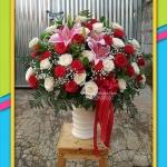 Bunga meja ulang tahun